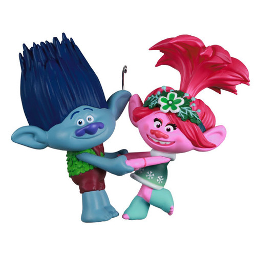 DreamWorks Animation Trolls Holiday in Harmony Poppy and Branch Ornament