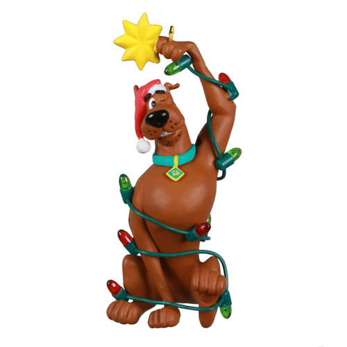 Scooby-Doo™ Spruced Up Scoob Ornament