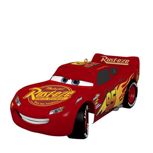 Disney/Pixar Cars 15th Anniversary Lightning McQueen Ornament With Sound