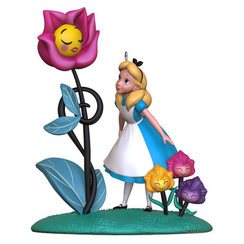 Disney Alice in Wonderland 70th Anniversary Ornament