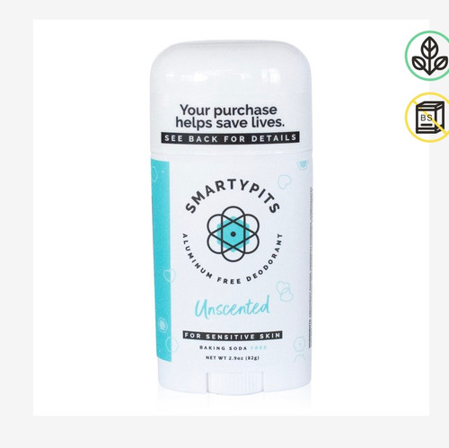 Unscented Sensitive Skin Formula (baking soda free)