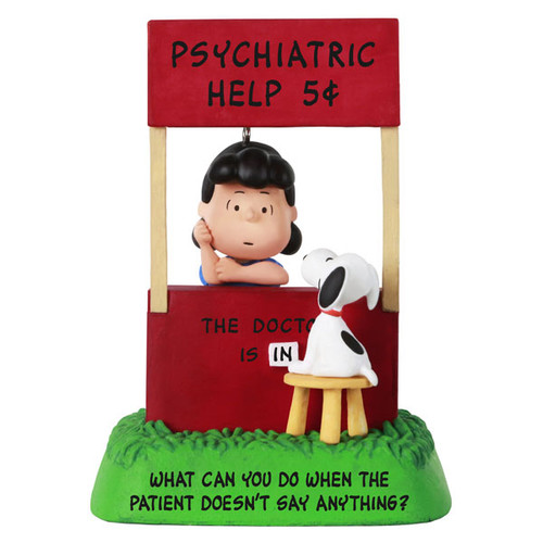 The Peanuts® Gang The Doctor Is In Lucy and Snoopy Ornament