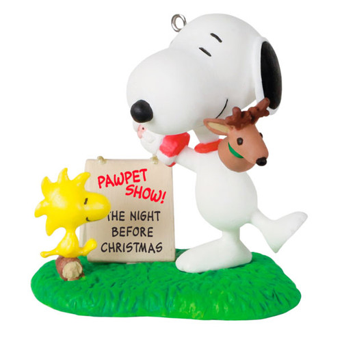 The Peanuts® Gang Snoopy's Pawpet Show Ornament