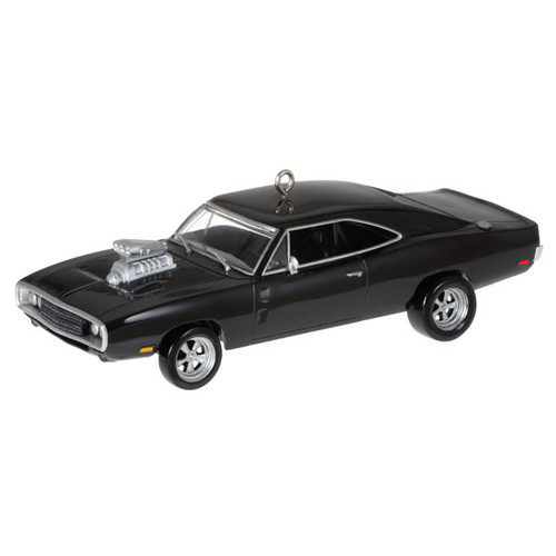 The Car's the Star The Fast and the Furious™ 1970 Dodge Charger Metal Ornament