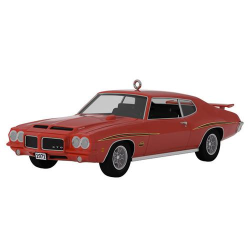 1971 Pontiac® GTO™ Judge™ Classic American Cars 2021 Metal Ornament