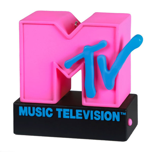 I Want My MTV! Ornament With Light and Sound