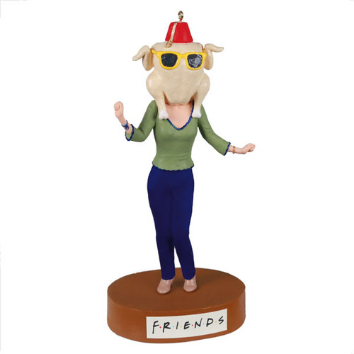 Friends The One With All The Thanksgivings Ornament With Sound