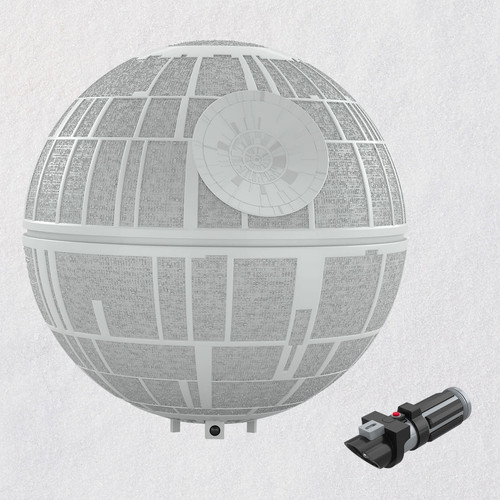 Star Wars: A New Hope™ Collection Death Star™ Musical Tree Topper With Light