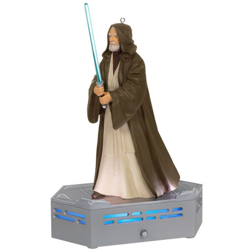 Star Wars: A New Hope™ Collection Obi-Wan Kenobi™ Ornament With Light and Sound