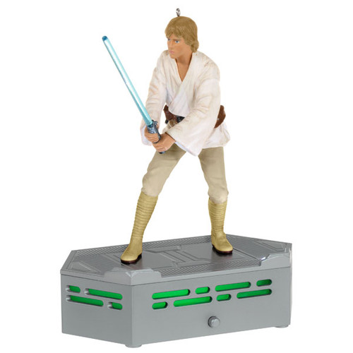 Star Wars: A New Hope™ Collection Luke Skywalker™ Ornament With Light and Sound