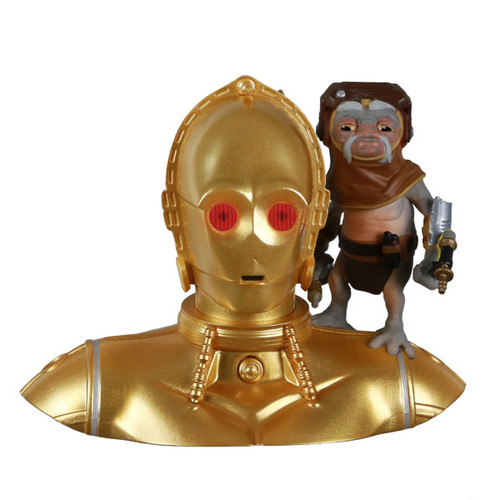 Star Wars: The Rise of Skywalker™ C-3PO™ and Babu Frik™ Ornament With Light and Sound