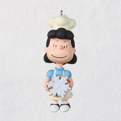"""Mini The Peanuts® Gang Baker Lucy Ornament, 1.22"""""""