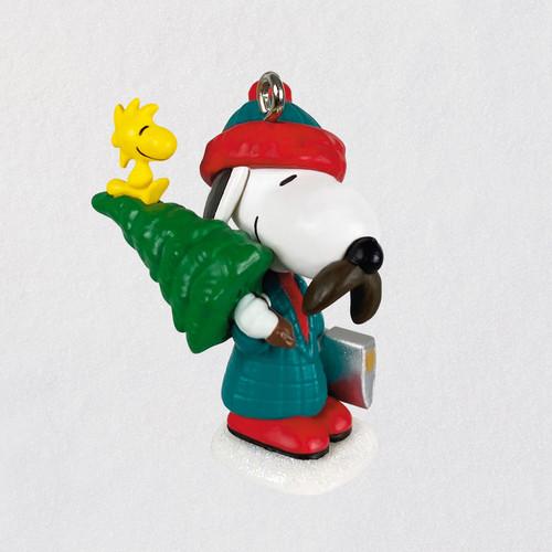 "Mini Peanuts® Winter Fun With Snoopy Ornament, 1.17"""