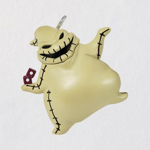 "Mini Disney Tim Burton's The Nightmare Before Christmas Lil' Oogie Boogie Ornament, 1"""