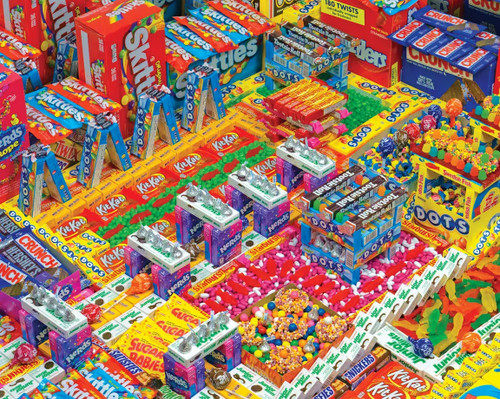 Candyscape 1500 Piece Jigsaw Puzzle