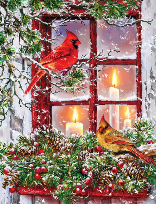 Together for Christmas 500 Piece Jigsaw Puzzle
