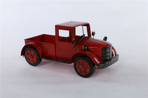 Metal Red Truck Container