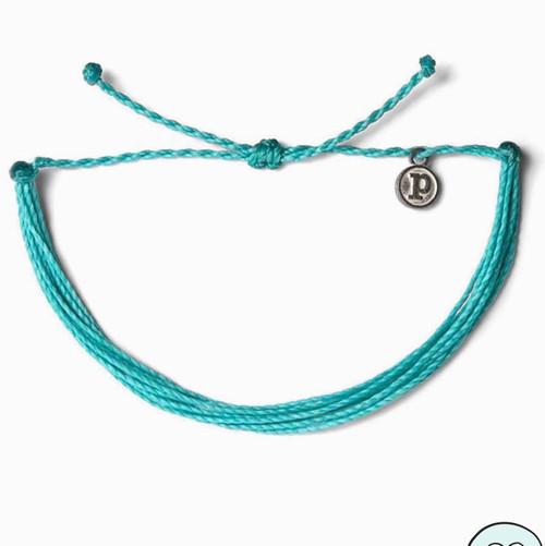 Pura Vida Original Bracelet Pacific Blue