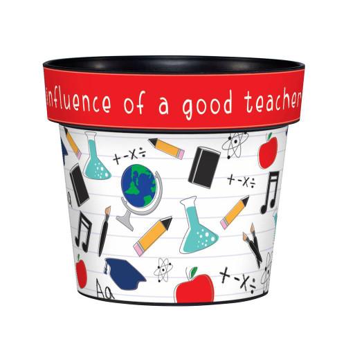 A Good Teacher 6 inch Art Pot