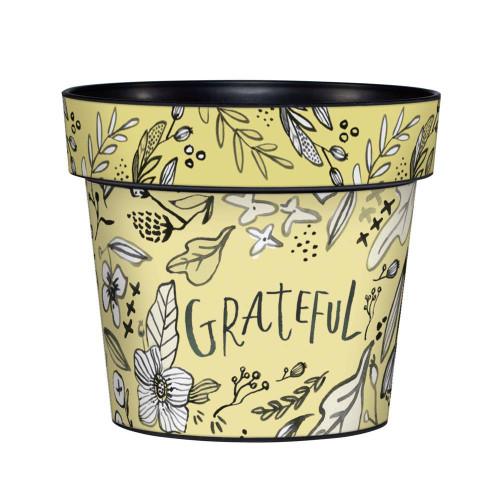 Grateful 6 inch Art Pot