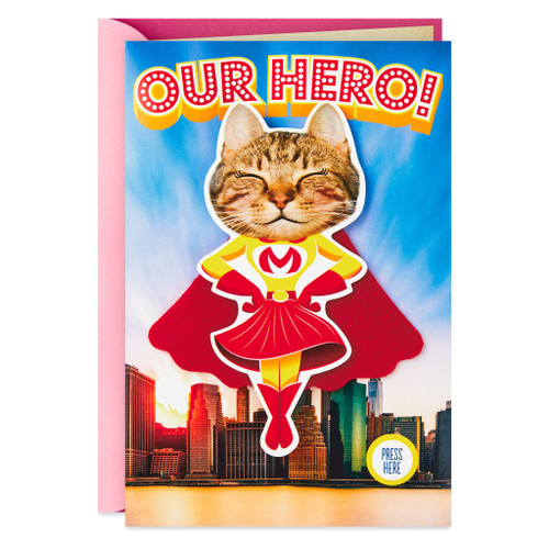 Our Hero Musical Mother's Day Card With Motion
