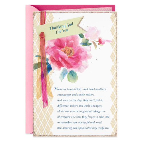 Day Spring Amazing and Appreciated Mom Religious Mother's Day Card