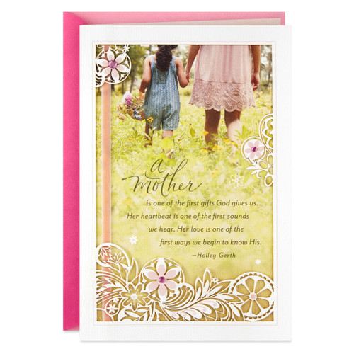 Day Spring Your Love Is a Gift Religious Mother's Day Card