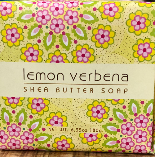 Lemon Verbena Shea Butter Bar of Soap 6.35oz