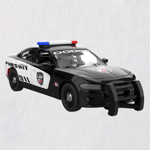 2019 Dodge Charger Police Pursuit 2020 Metal Ornament