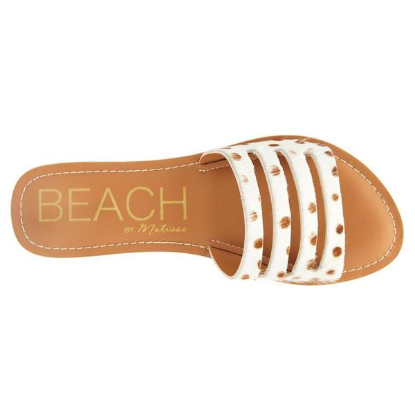 Boardwalk Sandal in Brown Spot