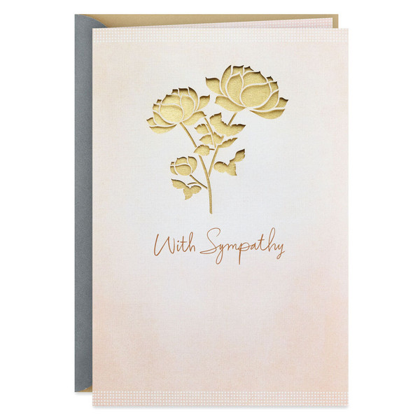 Thoughts and Prayers Sympathy Card