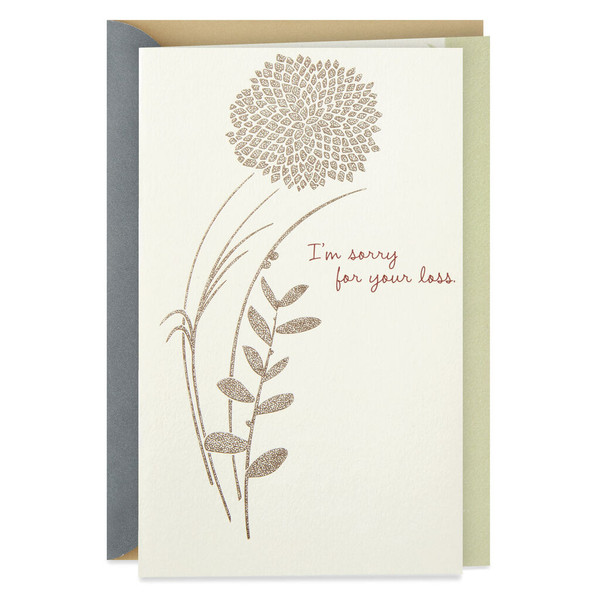 A Word of Friendship Sympathy Card