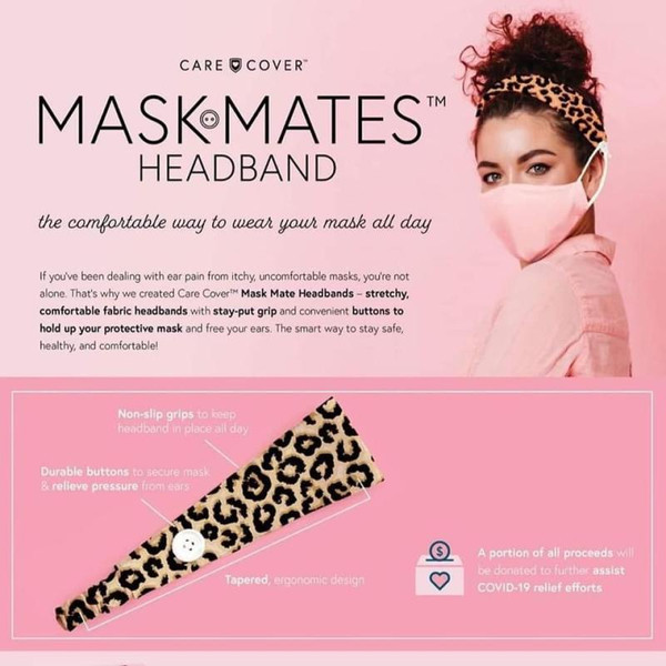 Care Cover Mask Mates Headband