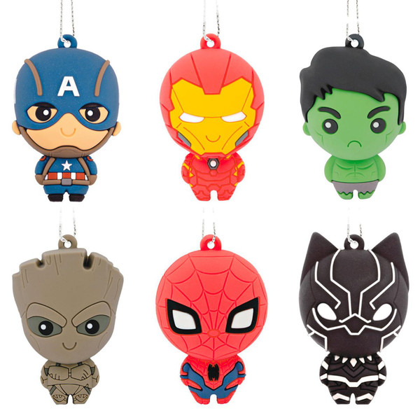 Marvel Super Heroes Series 1 Mystery Hallmark Ornament