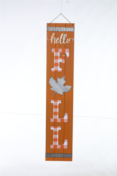 Large Wooden Christmas/Fall Reverse Hang