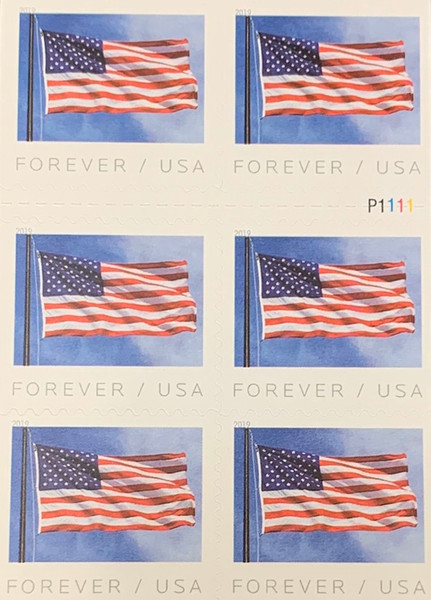 First Class Stamps - American Flag