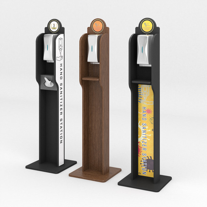 Hand Sanitizer Dispenser Stands Deluxe