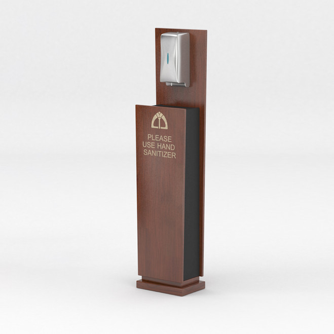 Small Hand Sanitizer Stand with Automatic Touchless Dispenser