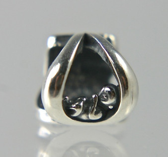 This sterling silver baby bead is part of the Celebrate Life Collection that features a baby in a teardrop. This design was inspired through a dream. The inside diameter is 5.5mm which is the proper size to fit on a Pandora Style beaded bracelet or necklace. Lets celebrate the birth of a baby, the adoption of a child and or Pro-Life. We are all walking miracles and a precious gift from God.