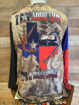 It's a Texas Thing Full Sublimation Performance Shirt