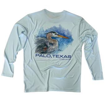 Palo Fishing Heron Art