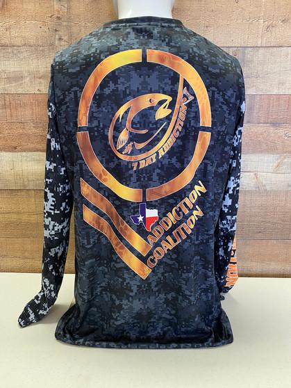 Addiction Coalition Golden Shield Full Sublimation Performance Shirt