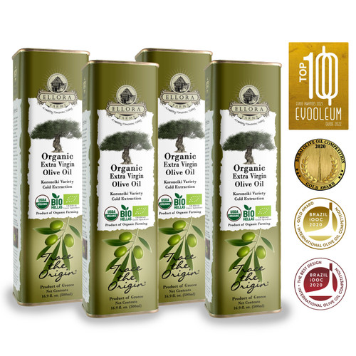 Ellora Farms Organic Extra Virgin Olive Oil awards