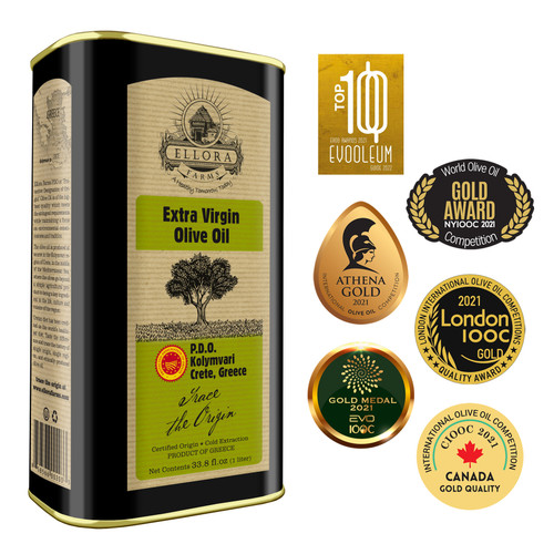 Ellora Farms Single Estate International Award Winning Extra Virgin Greek Olive Oil