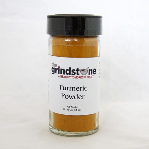 Turmeric Powder, 2.5 oz. In Glass Bottle, Non GMO