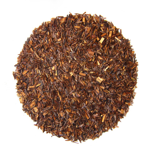 ORGANIC RED ROOIBOS TEA | Caffeine Free South African Red Bush | Wellness Tea Collection | 1.5 Oz. Jar