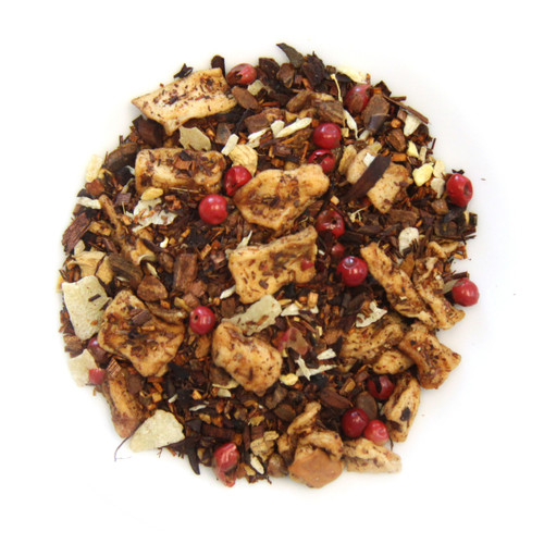 ORGANIC GINGER APPLE PIE | Caffeine Free Herbal Infusion | Dessert Tea Collection | 2 oz. Jar