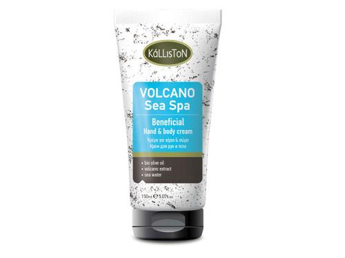 Organic Olive Oil & Volcanic Sea Spa, Hand & Body Cream, 5.07 fl. oz. in Tube