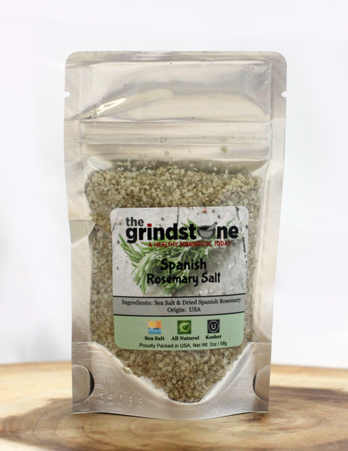 Spanish Rosemary, Infused, Sea Salt, 2 oz. Pouch