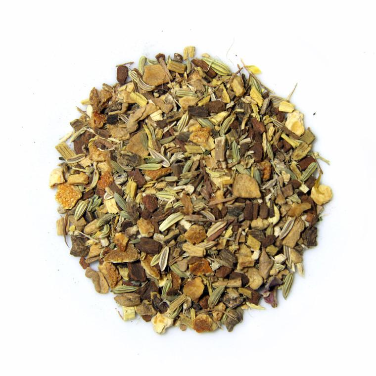 ORGANIC BREATHE WELL TEA | Caffeine Free Herbal Root Infusion | Wellness Tea Collection | 1.5 oz. Jar